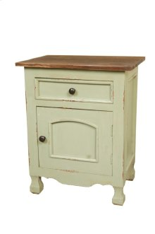 Sunset Trading Cottage Two Tone Storage Table - Sunset Trading
