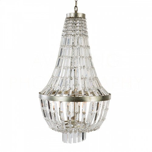 Glendive Small Crystal Chandelier