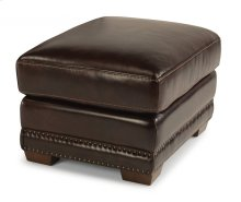 Chandler Leather Ottoman