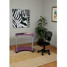 Kool Kolor Computer Desk In Purple Finish