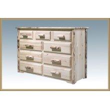 Montana Log 9 Drawer Dresser