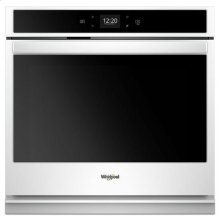 Whirlpool® 5.0 cu. ft. Smart Single Wall Oven with Touchscreen - White