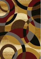Affinity Ricochet Gold Rugs