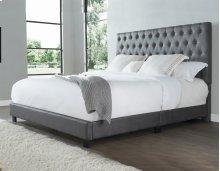 """Sophia King Bed, Steel 82""""x4""""x58"""""""