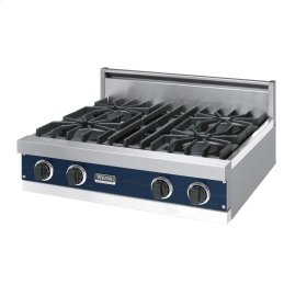 "Viking Blue 30"" Open Burner Rangetop - VGRT (30"" wide, four burners)"