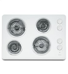 30-inch Electric Cooktop with Two Power Cook Elements