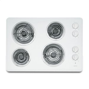 Maytag30-inch Electric Cooktop with Two Power Cook Elements