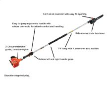 PPF-225 Fixed Length Pole Saw Power Pruner -