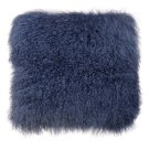 Tibetan Sheep Large Blue Pillow Product Image