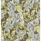 Hydrangea Fabric, Brown Product Image