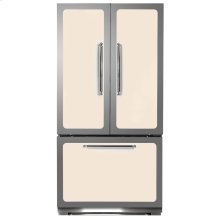 Ivory Classic French Door Refrigerator