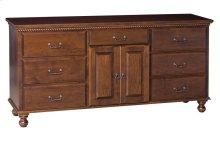 Hampton 7 Drawer/2 Door Dresser