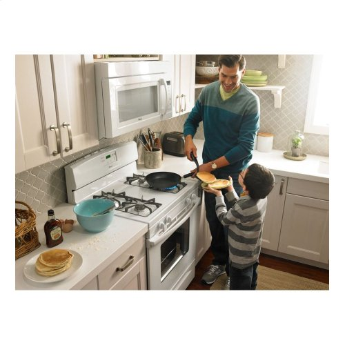 Amana® 5.0 cu. ft. Gas Oven Range with Easy Touch Electronic Controls