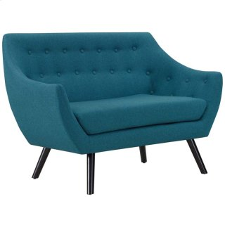 Allegory Loveseat in Teal