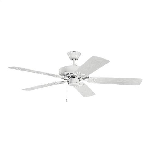 52 Inch Kichler Basics Patio Ceiling Fan - WH
