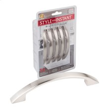 """10-Pack of 4-7/8"""" Overall Length Arched Cabinet Pulls. Holes are 96 mm center-to-center."""