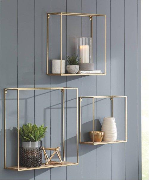 Wall Shelf Set (3/CN)