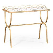 glomise & Gilded Iron Drinks Table