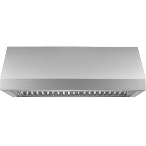 "Dacor48"" Pro Wall Hood, 12"" High, Silver Stainless Steel"
