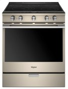 6.4 Cu. Ft. Smart Contemporary Handle Slide-in Electric Range with Frozen Bake Technology Product Image