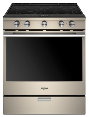 6.4 cu. ft. Smart Slide-in Electric Range with Scan-to-Cook Technology Product Image