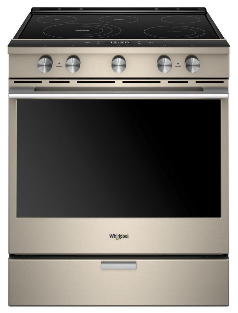 6 4 Cu Ft Smart Slide In Electric Range With Scan To