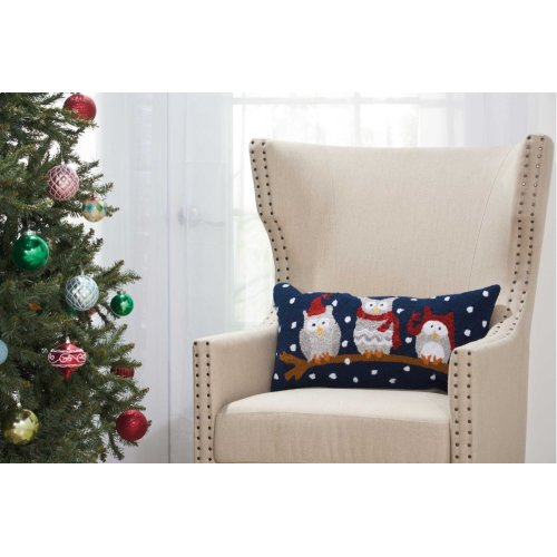 """Home for the Holiday Yx092 Multicolor 12"""" X 24"""" Throw Pillows"""
