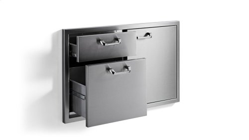 "36"" Door Drawer Combination ( Professional)"