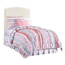 Clementine Court-Upholstered Headboard - Frosting