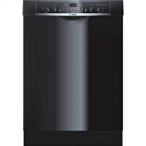 "24"" Recessed Handle Dishwasher Ascenta- Black"