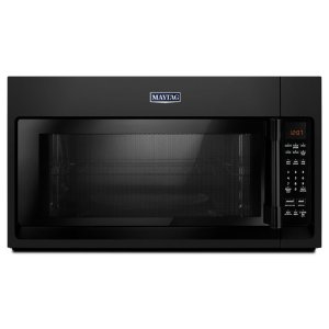 Over-The-Range Microwave With Interior Cooking Rack - 2.0 Cu. Ft. - BLACK