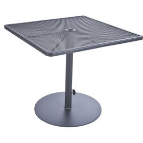 """34"""" Sq. Pedestal Dining Table"""