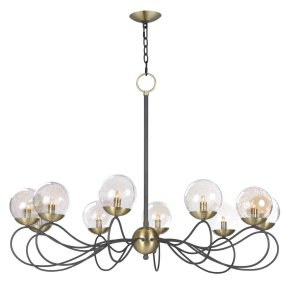 Reverb 10-Light Pendant w/Xenon Bulbs