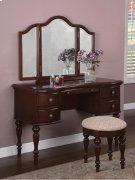 """Marquis Cherry"" Vanity, Mirror & Bench Product Image"