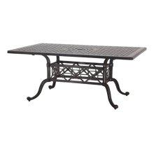 "Grand Terrace 42"" x 63"" Rectangular Dining Table"