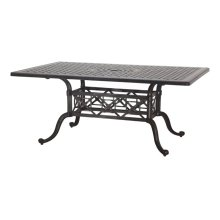 "Grand Terrace 42"" x 63"" Rectangular Dining Table"