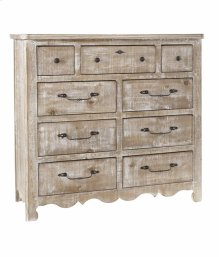 Tall Dresser - Chalk Finish