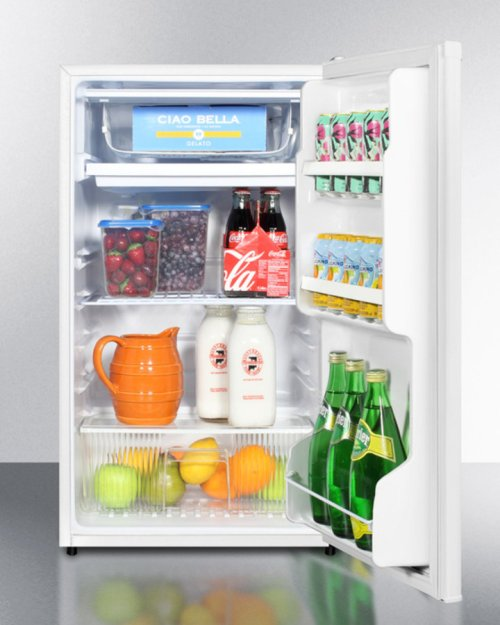Energy Star Qualified Refrigerator-freezer With ADA Compliant Counter Height; Auto Defrost and White Exterior