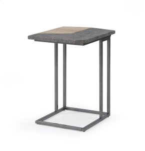 Emerald Home Rubix Laptop Table W/silver Metal Base T570-07