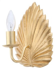 Adonis Wall Sconce - Gold Leaf
