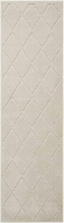 Gleam Ma601 Ivory Runner 2'2'' X 7'6''