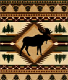 9987 Wilderness Rug