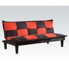 Bk/red Mfb Adjustable Sofa
