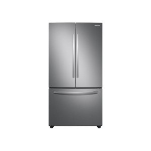 SAMSUNG28 cu. ft. Large Capacity 3-Door French Door Refrigerator with AutoFill Water Pitcher in Stainless Steel