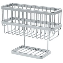 Symmons Extended Selection Dual Shelf Soap Basket - Polished Chrome