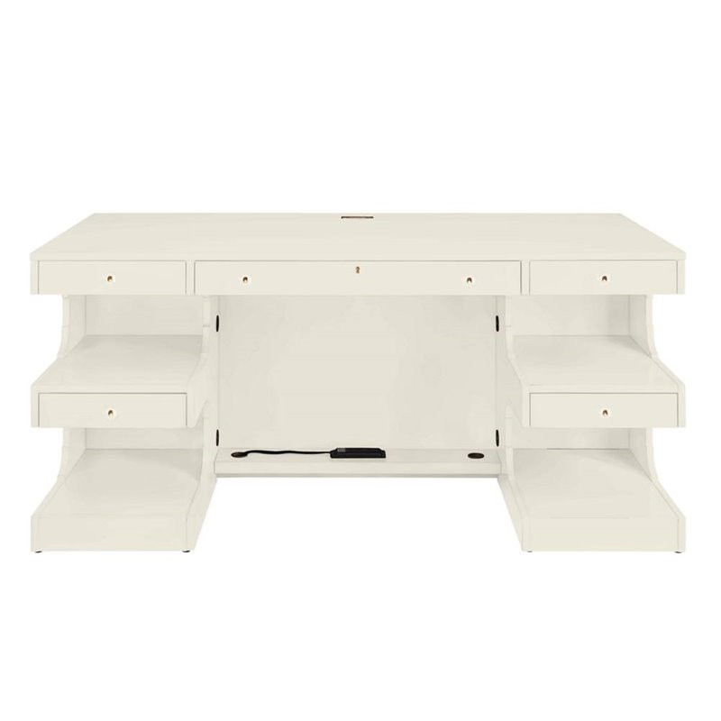 5272503 In By Stanley Furniture In Garland, TX   Oasis Cape Dutch Writing  Desk In Saltbox White