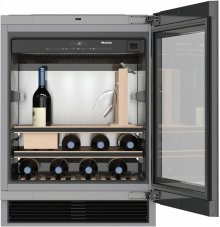 KWT 6312 UGS Built-under wine storage unit for perfect enjoyment and timeless design with its Push2open and SommelierSet.