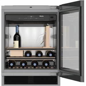 MieleKWT 6312 UGS Built-under wine storage unit for perfect enjoyment and timeless design with its Push2open and SommelierSet.
