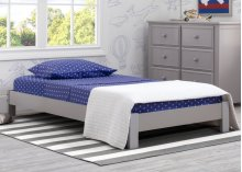 Platform Twin Bed - Grey (026)