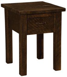 One Drawer Nightstand Red Canyon